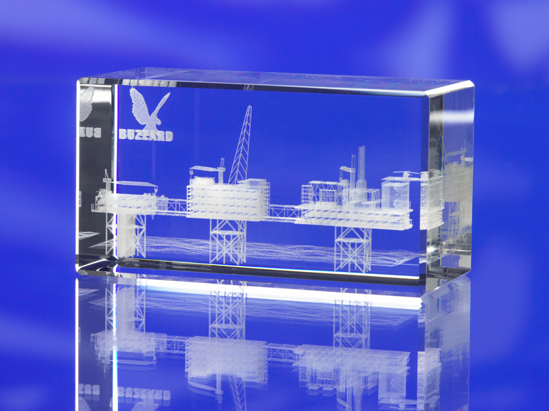 BEVELLED RECTANGULAR GLASS BLOCK