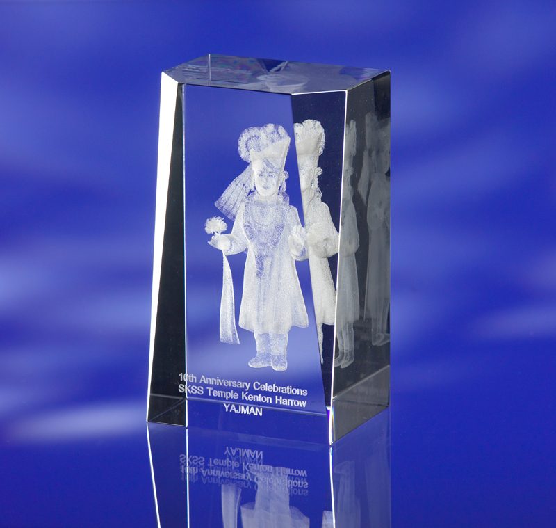 SHOWCASE GLASS AWARD TROPHY