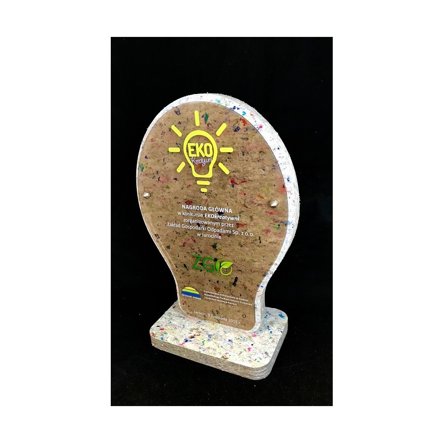 3D Crystal Financial Tombstone